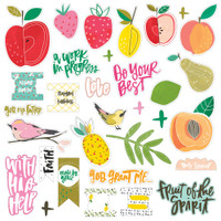 Illustrated Faith - Fruit Of The Spirit Cardstock Die-Cuts
