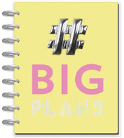The Happy Planner - Me and My Big Ideas - 2018 - 2019 Classic Happy Planner® - Big Plans