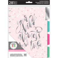 Me and My Big Ideas - The Happy Planner - 6-Month Undated Extension Pack - Your Vibe - Classic