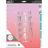 Me and My Big Ideas - The Happy Planner - Undated Extension Pack - Hourly - Big