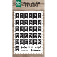 Echo Park Paper - Stamps - Calendar Days