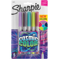 Sharpie Cosmic Color Ultra Fine Point Markers - Set of 5