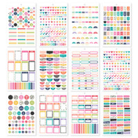 Carpe Diem - Simple Stories - A5 Sticker Book - Planner Basics