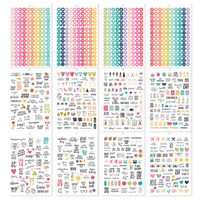Carpe Diem - Simple Stories - A5 Sticker Book - Calendar