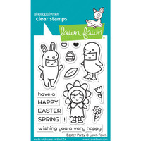 Lawn Fawn Clear Stamps - Easter Party