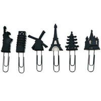 City Clips - Set of 6