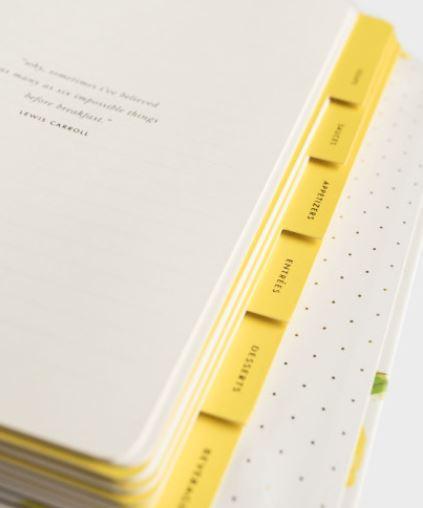 Kate Spade - Lemon Recipe Book