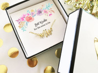 Bridal Gift - Gold Mrs Necklace - Mrs