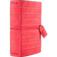 Webster's Pages - Color Crush - Pocket Traveler's Planner - Pink Stitched Stripe