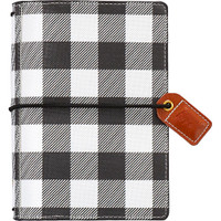 Webster's Pages - Color Crush - Pocket Traveler's Planner - Buffalo Plaid