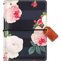 Webster's Pages - Color Crush - Pocket Traveler's Planner - Black Floral