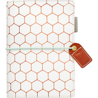 Webster's Pages - Color Crush - Pocket Traveler's Planner - Copper Hexagon