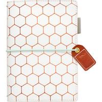 Webster's Pages - Color Crush - Pocket Traveler's Planner - Copper Hexagon
