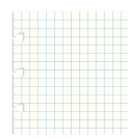 Filofax - Notebook Squared Paper Refill - Pocket