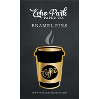 Echo Park - Enamel Pin - Coffee & Friends
