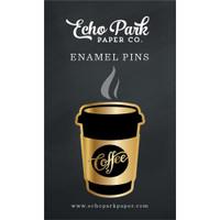 Echo Park - Enamel Pin - Coffee & Friends