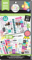 Me and My Big Ideas - The Happy Planner - Value Sticker Book - Gold Star Quotes (#605)