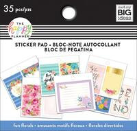Me and My Big Ideas - The Happy Planner - Tiny Sticker Pad - Floral