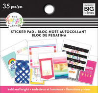Me and My Big Ideas - The Happy Planner - Tiny Sticker Pad -Bold and Bright