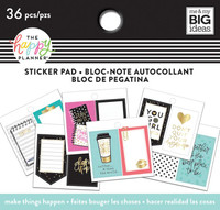 Me and My Big Ideas - The Happy Planner - Tiny Sticker Pad - Make Things Happen