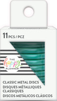 Create 365 - Me and My Big Ideas - Happy Planner -METAL Medium Discs - Teal