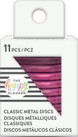 Create 365 - Me and My Big Ideas - Happy Planner -METAL Medium Discs - Hot Pink