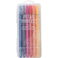Crate Paper - Here & There Detail Doodlers Felt Tip Markers - Set of 12