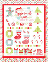 It's Sew Emma - Peppermint Lane Block Of The Month Book