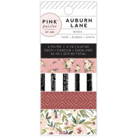 Pink Paislee - Auburn Lane Washi Tape - Set of 6