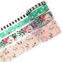 Prima Marketing - Havana Decorative Washi Tape - Set of 4