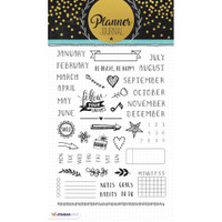 Studio Light Planner Journal A5 Stamp - Planner Stamps - Months