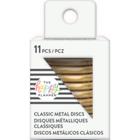 Create 365 - Me and My Big Ideas - Happy Planner - METAL Medium Discs - Gold