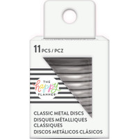 Create 365 - Me and My Big Ideas - Happy Planner - METAL Medium Discs - Silver