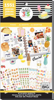 Me and My Big Ideas - The Happy Planner - Value Sticker Book - Food (#1551)
