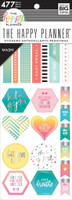 Me and My Big Ideas - The Happy Planner - Value Sticker Book - Fitness Washi Book