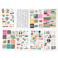 Carpe Diem - Simple Stories - Good Vibes - Stickers - 8 Sheets