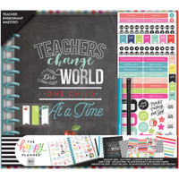 ***OUTDATED*** The Happy Planner - Me and My Big Ideas - Box Kit - BIG Teacher Edition - Teachers Change The World (Monthly - Dated, Weekly - Undated)