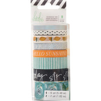 Heidi Swapp - Washi Tape Rolls - Fresh Start - Playful - Set of 8