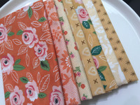 Moda Fabric - Fat Quarter Bundle - Sugar Pie by Lella Boutique - Yellow & Orange