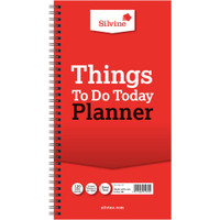 "Silvine - Things To Do Planner 5.9"" x 11"""