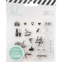 Heidi Swapp - Memory Planner Clear Stamps - Fresh Start - Everyday