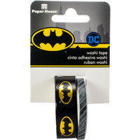 Paper House Licensed Washi Tape - Set of 2 - Batman