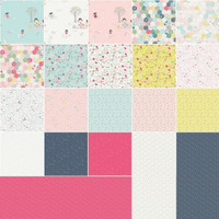 Riley Blake Designs - Serendipity by Minki Kim Collection - Fat Quarter Bundle