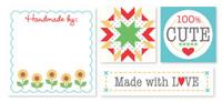 Riley Blake Designs - Lori Holt Made By Labels 12pk