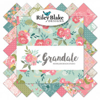 Riley Blake Fabrics - Grandale - Keera Job Collection - 10 inch Stacker