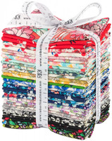 Robert Kaufman Fabric Precuts - London Calling - Lawn - Fat Quarter Bundle