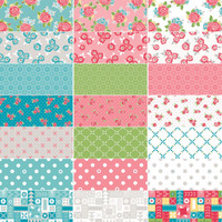 Riley Blake Designs - Hello Lovely by Amanda Herring - Fat Quarter Bundle