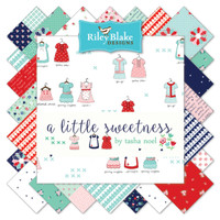 Riley Blake Fabric - A Little Sweetness by Tasha Noel - 5 inch Stacker