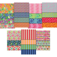 Free Spirit Fabric Precuts - Tabby Road by Tula Pink - Charm Pack