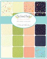 Moda Fabric Precuts - The Front Porch by Sherri & Chelsi - Fat Eighth Bundle
